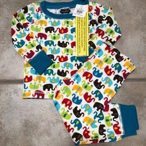 Mud Pie Pajamas - Mudpie long sleeve pajamas 9-12 months